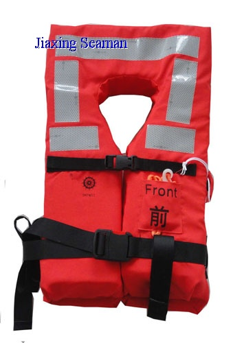 SOLAS MED Approved Adult Marine Life Jacket For Lifesaving