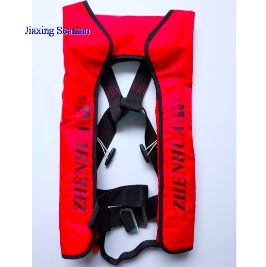 Single Air Chamber CO2 Inflatable Life jacket ISO12402
