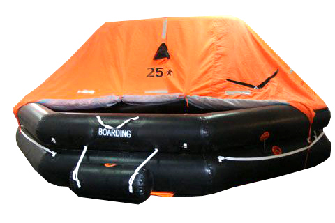 SOLAS Throw ove Life Raft
